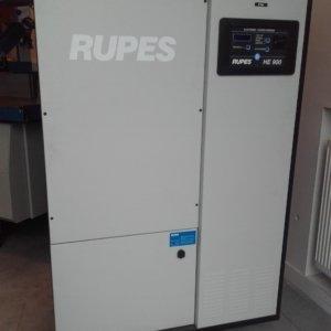 Rupes HE900 hoog vacuum afzuiging